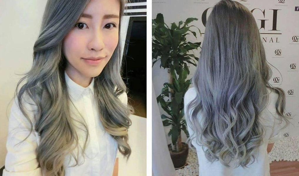 oggi professional hair studio silver hair