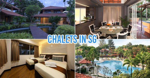 8 Chalets In Singapore For Large Group Staycations From $100/Night
