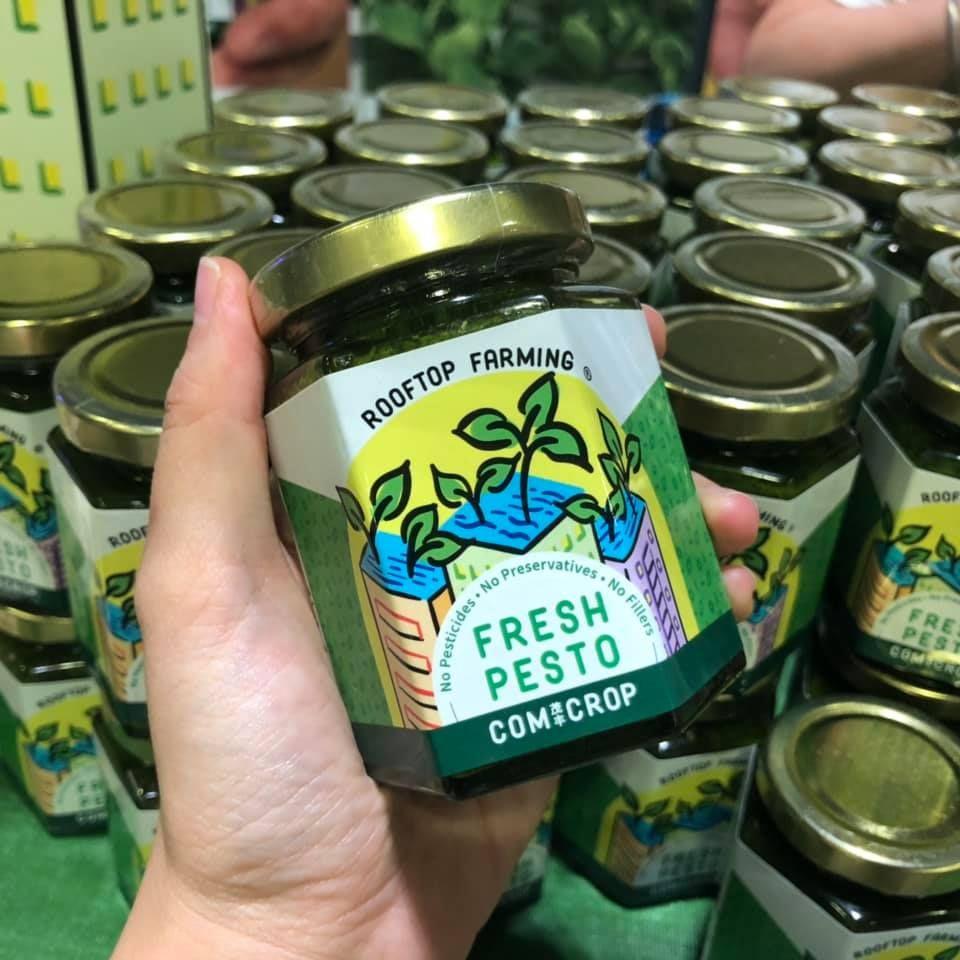 comcrop singapore fresh pesto