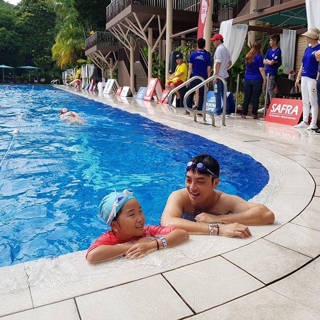 SAFRA Swim For Hope 2019 Donations Charity Family