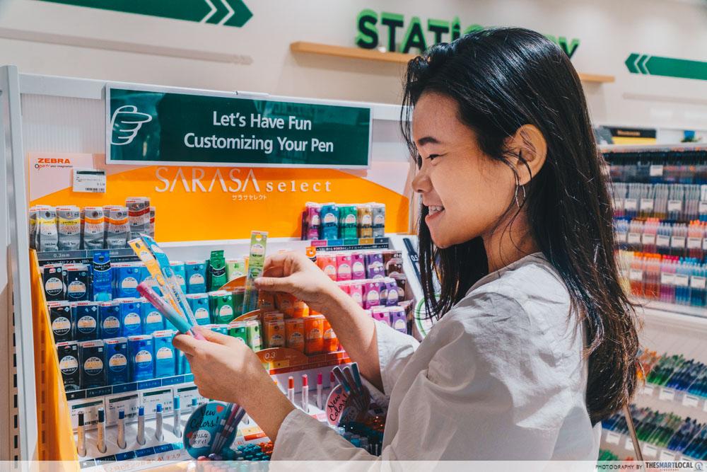 TOKYU HANDS PLQ Mall Sarasa Gel Pens