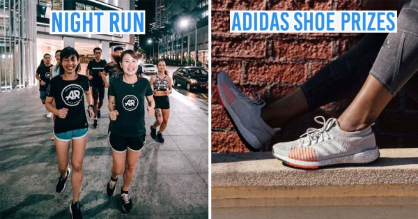 "adidas Has A Mystery 1.6km Night Race That Will Give You A Non-Basic ""Fun Run"" Experience"
