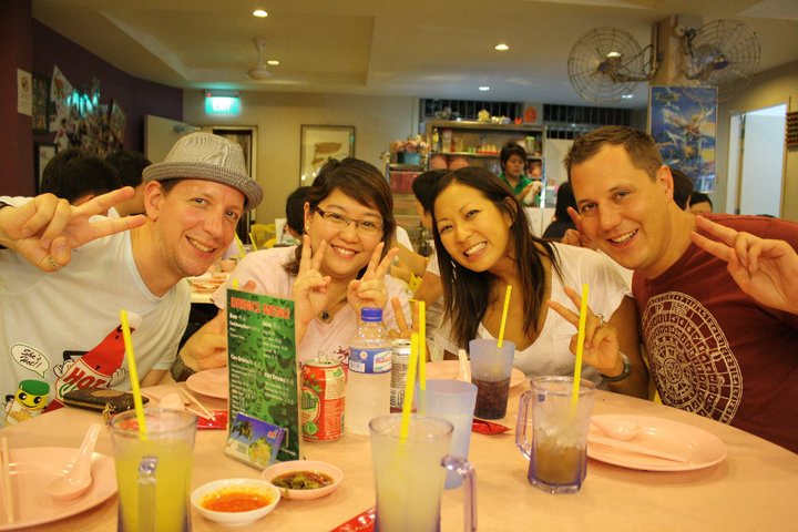 backpacking in singapore - couchsurfing