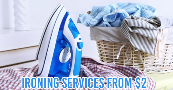 10 Ironing Services For Tired Singaporeans With No Time & Willpower For Household Chores