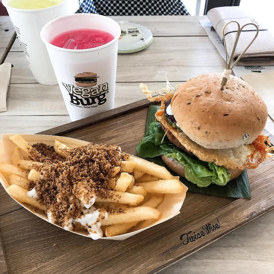10 Vegetarian Food Delivery Options In Singapore For Meatless Meals Sent Straight To Your Door veganburg