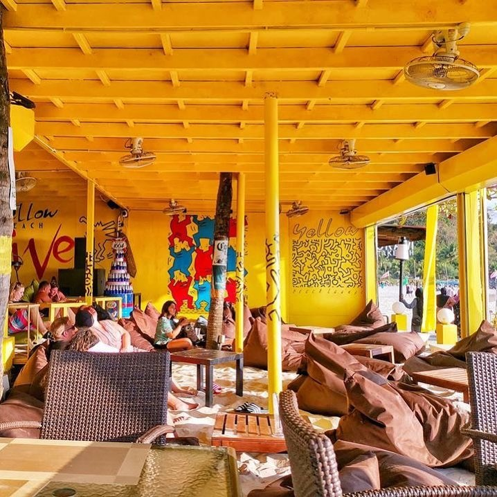 langkawi yellow beach cafe