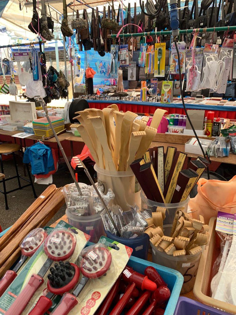 Nostalgic items wooden back scratcher