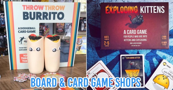 9 Board & Card Game Shops In Singapore For Group Outings That Don't Involve Eating