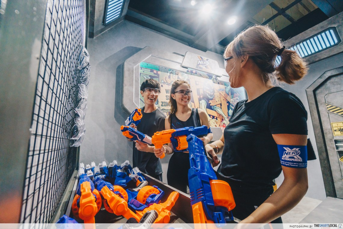 Zombie City NERF Action Xperience