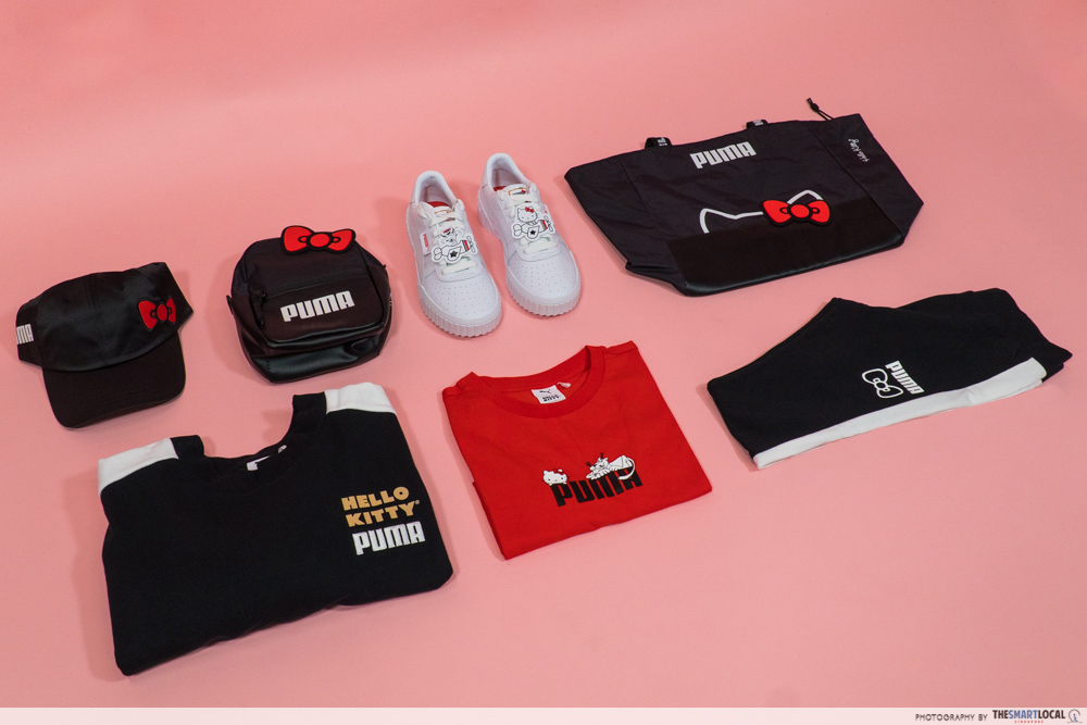 PUMA Hello Kitty Collection Streetwear Singapore Apparel