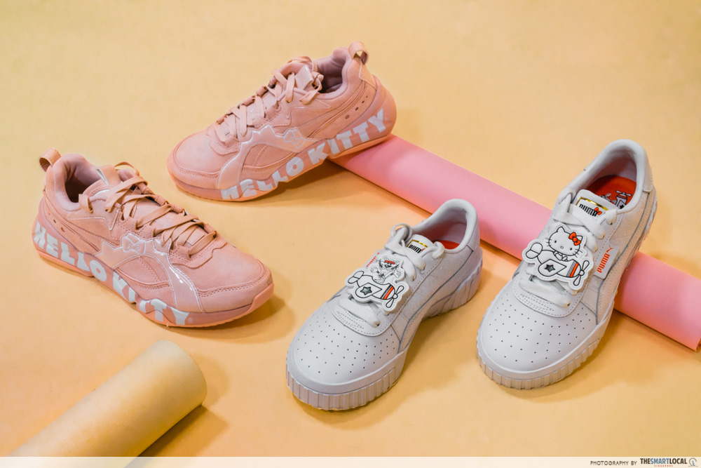 PUMA Hello Kitty Collection Streetwear Singapore Exclusive Sneakers