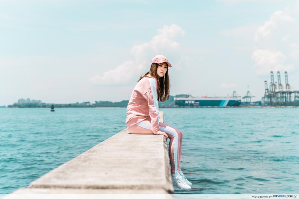 PUMA Hello Kitty Collection Streetwear Singapore Matching Set