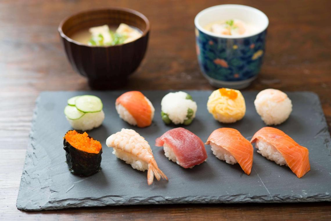 airKitchen Osaka Authentic Sushi Japanese Cooking Class