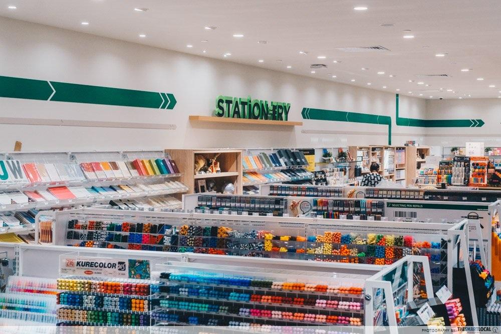 stationery shops singapore tokyu hands
