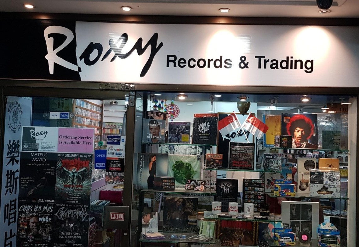 CD Shops in Singapore Roxy Records & Trading