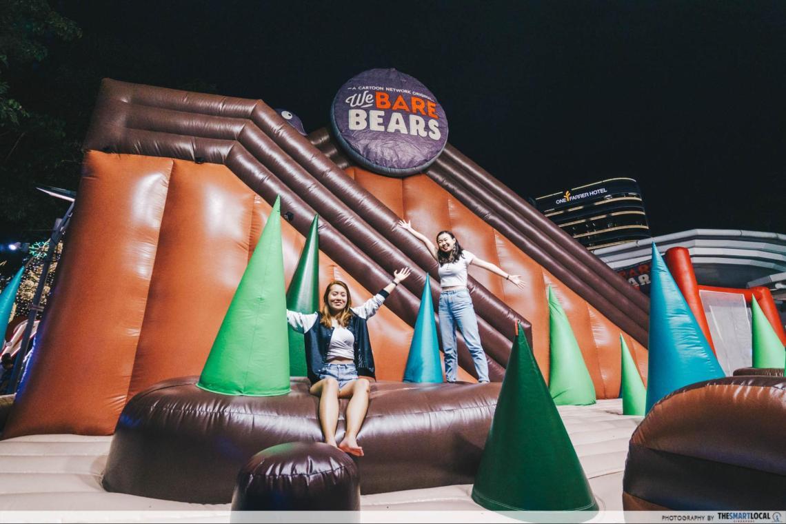 City Square Mall Christmas 2019 We Bare Bears Bounce House