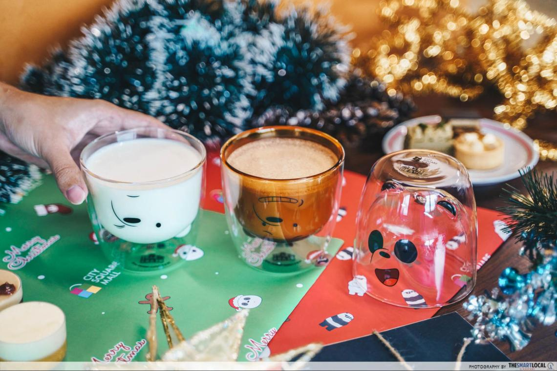 Free We Bare Bears Mugs City Square Mall Christmas 2019