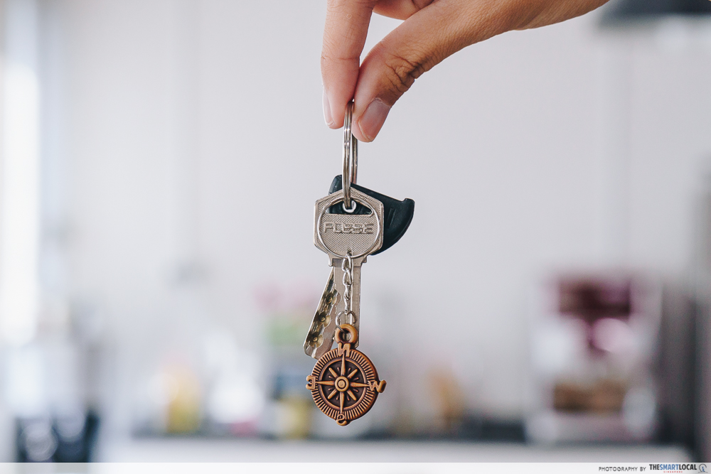 BTO key collection