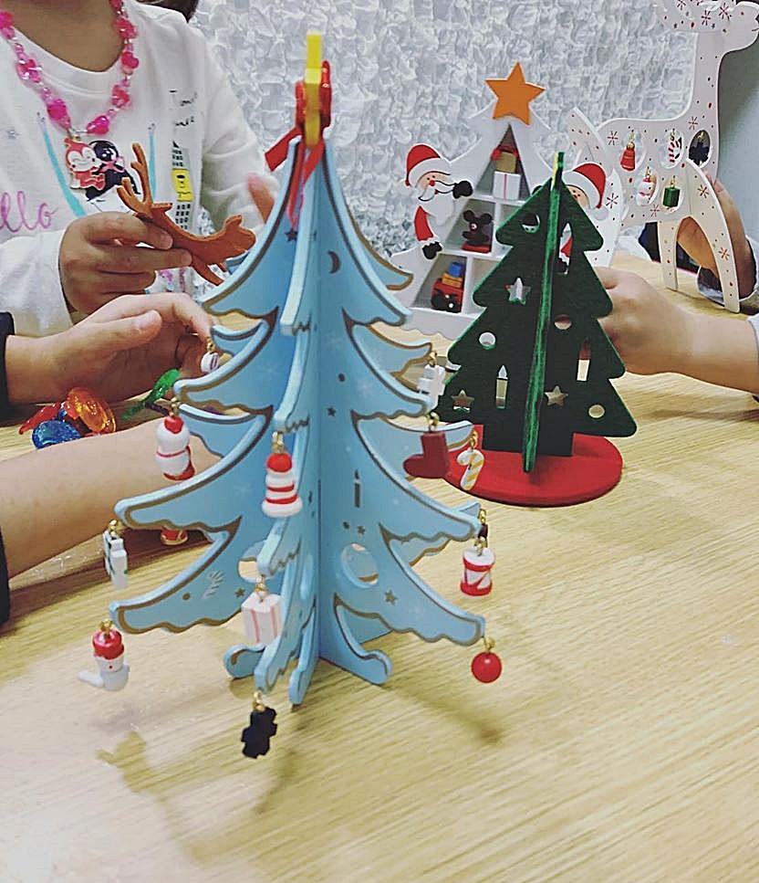 daiso diy kit christmas tree