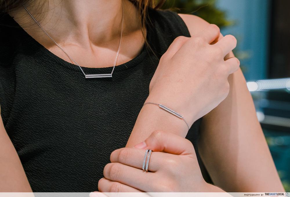 mauboussin sale - un p'tit trip d'amour necklace, bracelet, ring