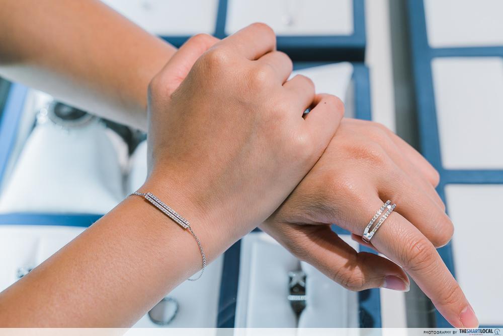mauboussin sale - un p'tit d'amour ring and bracelet