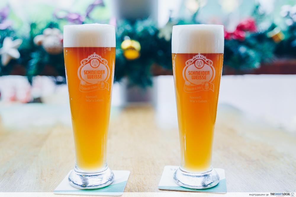 vivocity black friday sale 2019 - 1 for 1 beer at marche movenpick