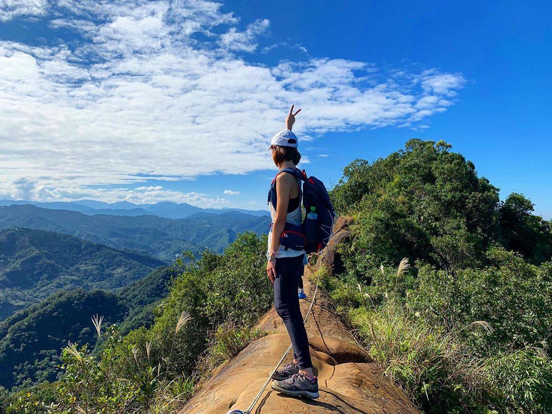 Huang Didian Trail - ridge hike