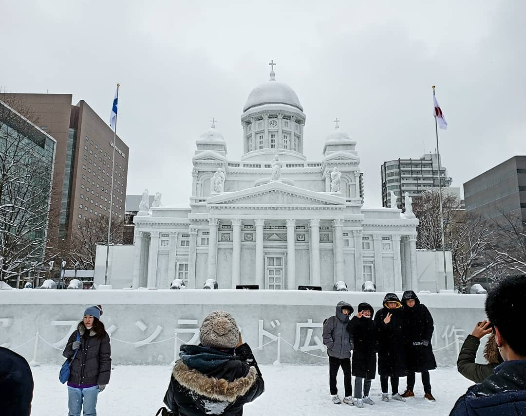 long weekend guide 2020 - christmas day and new year's day japan sapporo snow festival
