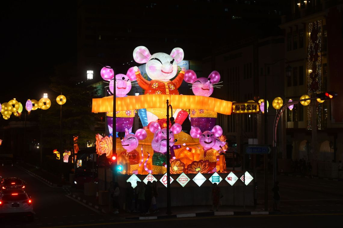 Chinatown CNY light up 2020