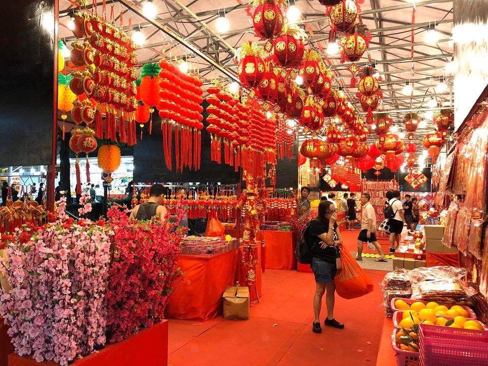 Chinatown Chinese New Year bazaar 2020