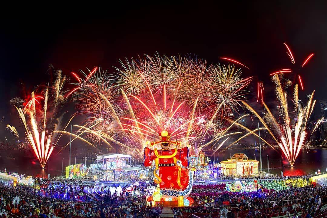 Chingay fireworks 2020