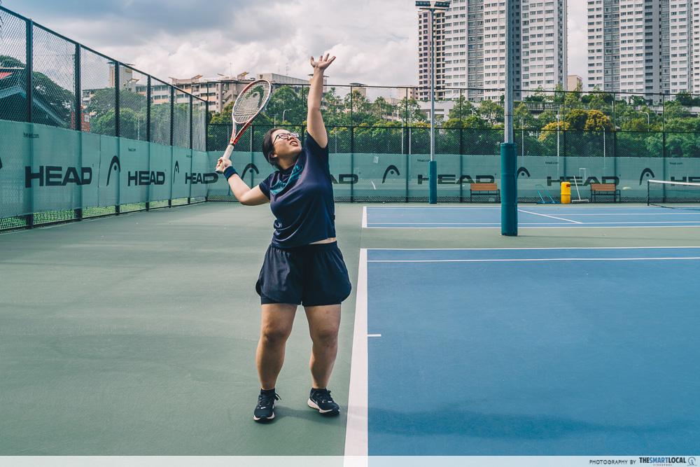 HPB exercise tennis