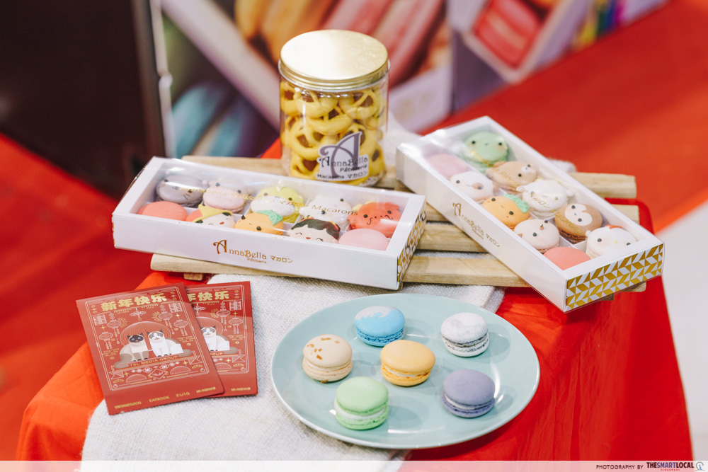 Annabella Patisserie cny zodiac macarons