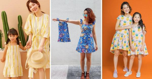 "10 Kids' Clothing Stores In Singapore With Matchy Pieces For Mum & Dad So Everyone Can ""Twin"""