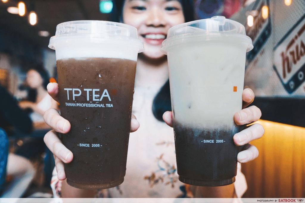 Tea Latte at TP Tea