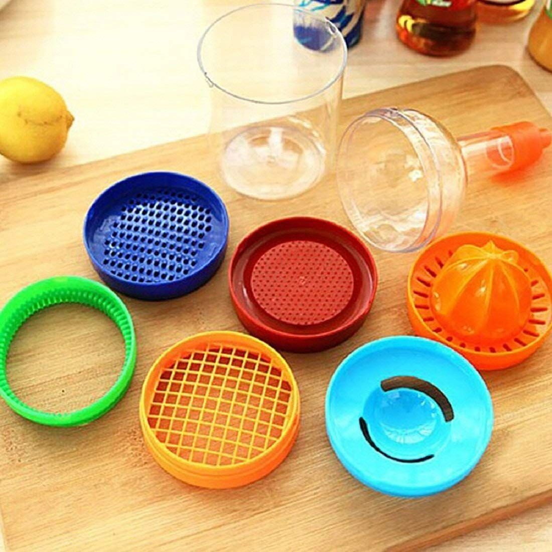 8 in 1 bottle-shaped kitchen tool