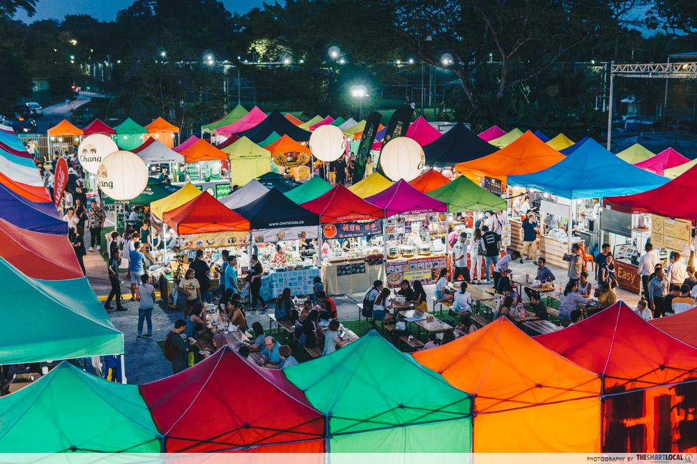 Chatuchak Night market in Singapore