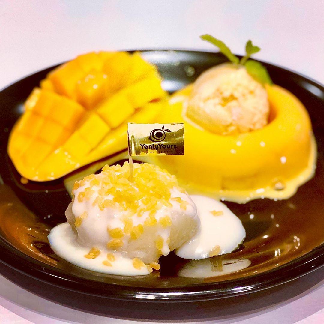 Yenly Yours - mango dessert