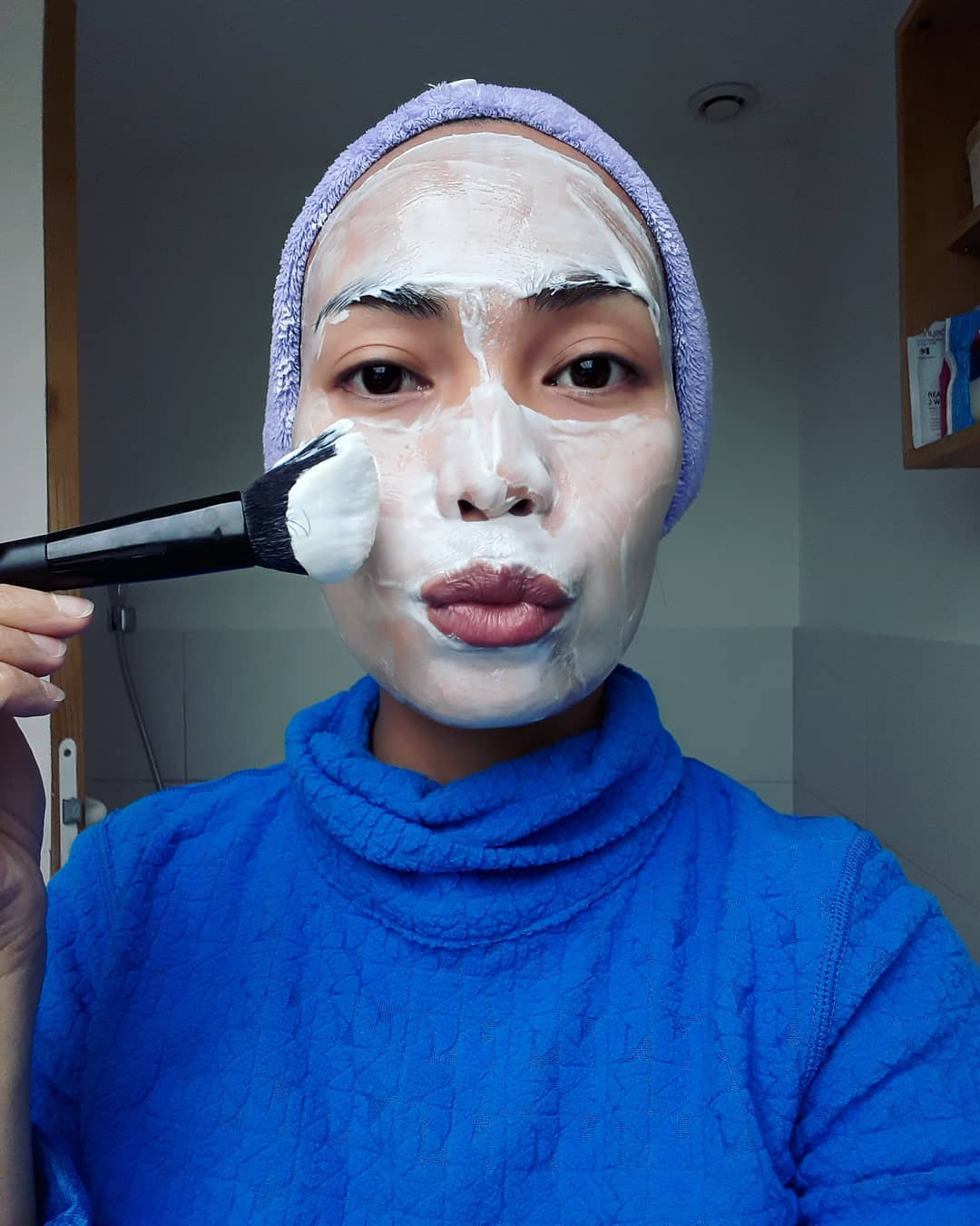 Expiring food: Yoghurt face mask