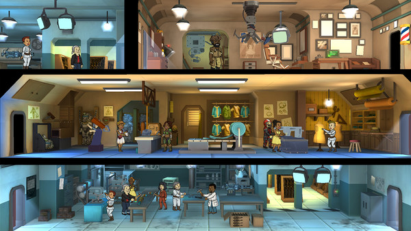 fallout shelter - free steam games