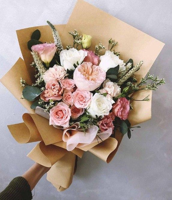 Gift for friends - flowers