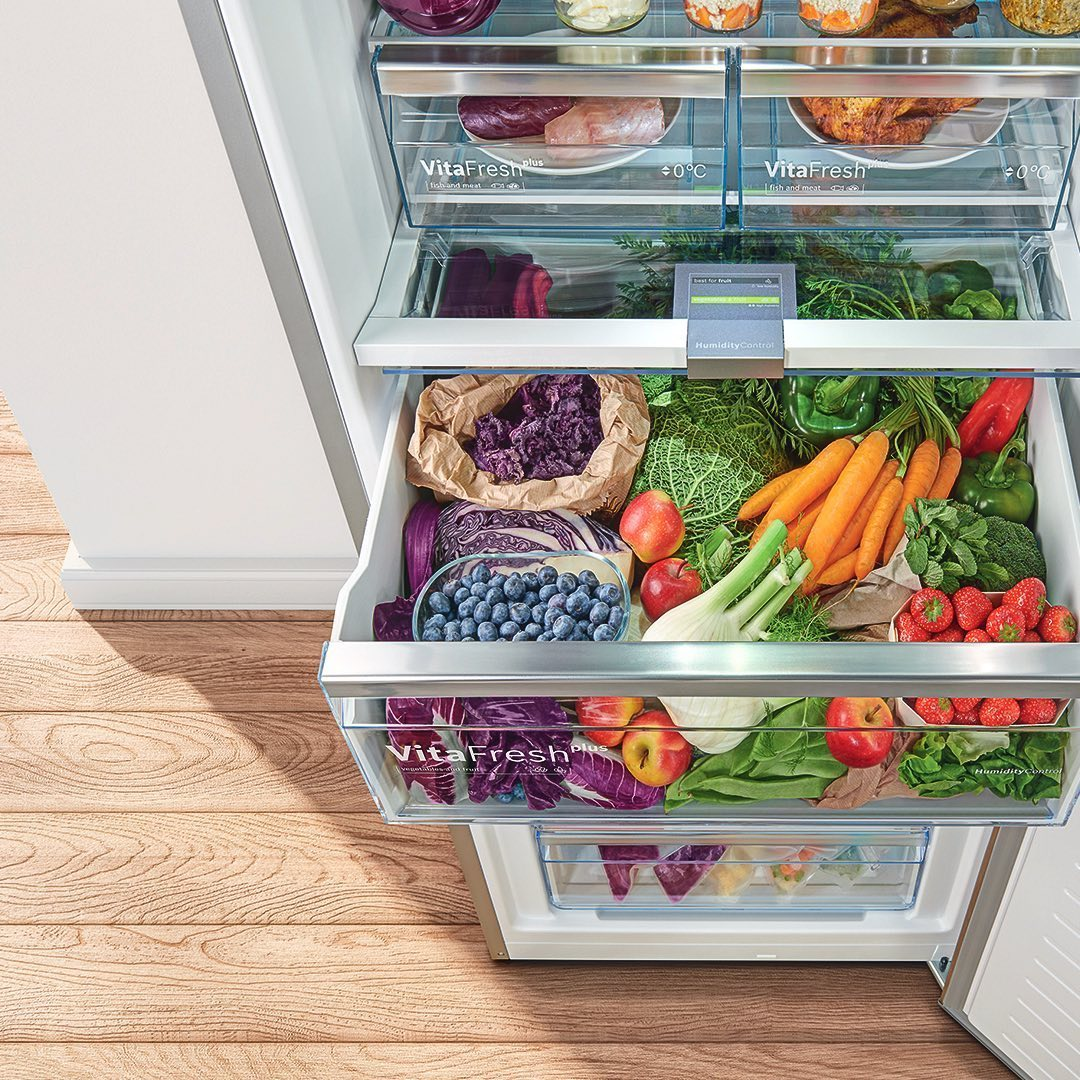 food storage: produce drawers