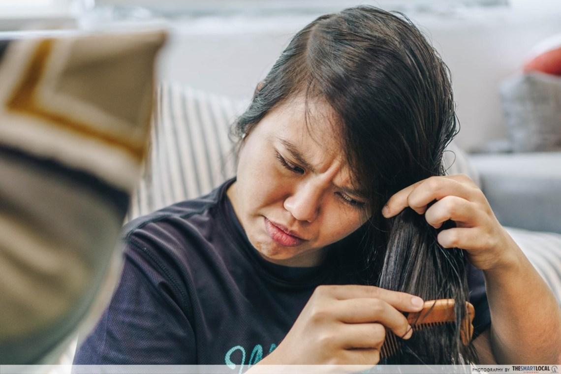 brushing hair myths