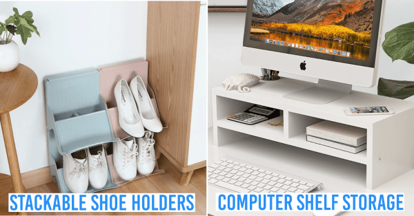 8 Home Organisation Items From Ezbuy Under $10 To Declutter Your Home