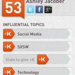 Klout Screen 3