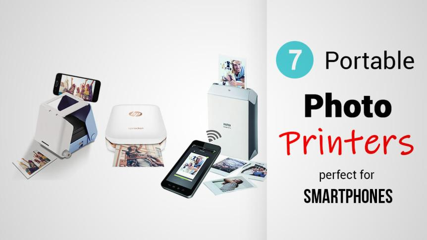 Title- 7 Portable Photo Printers Perfect For Smartphones