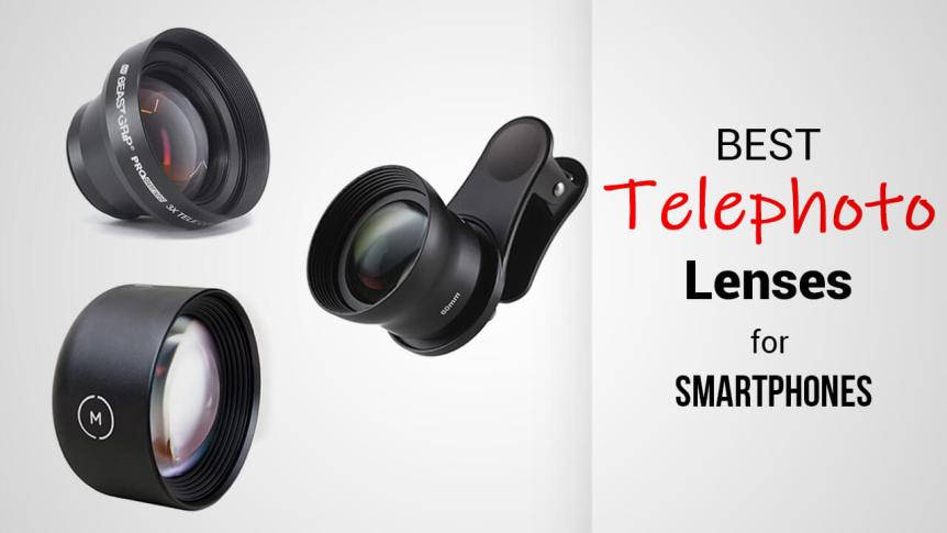 Title- Best Telephoto Lenses For Smartphone Cameras