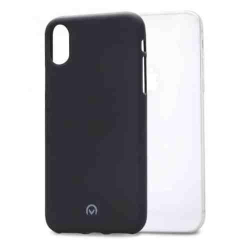 Mobilize Rubber Gelly Case Apple iPhone X/Xs Matt Black