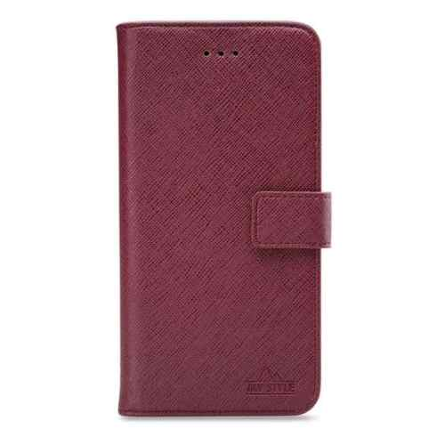 My Style Flex Wallet for Samsung Galaxy A40 Bordeaux