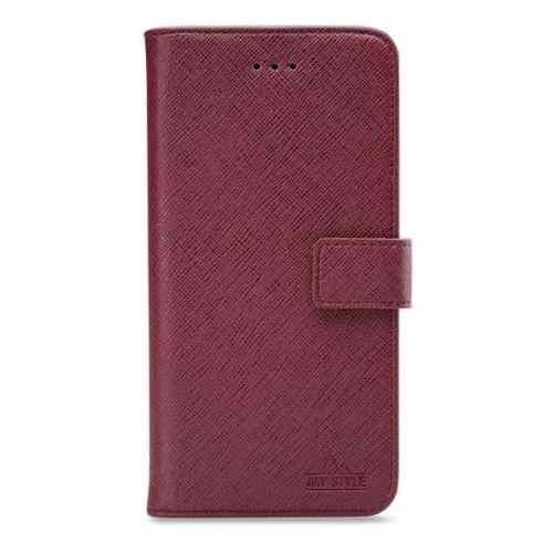 My Style Flex Wallet for Samsung Galaxy A51 Bordeaux